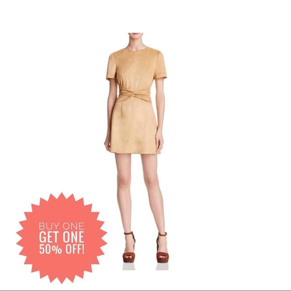 e3e39203a1b5f cotton candy LA Dresses   Skirts - Faux Suede twist Front Dress